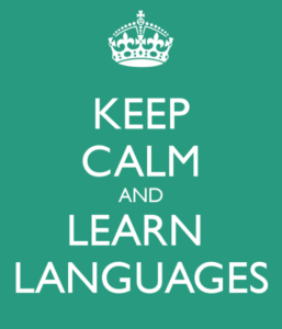 keep calm languages